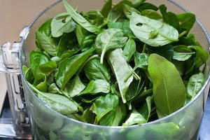 How to Freeze Fresh Basil and Ideas for Using Frozen Basil  [found on KalynsKitchen.com]