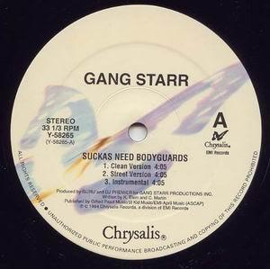 Gang Starr – Suckas Need Bodyguards / The ? Remainz (VLS) (1994) (320 kbps)