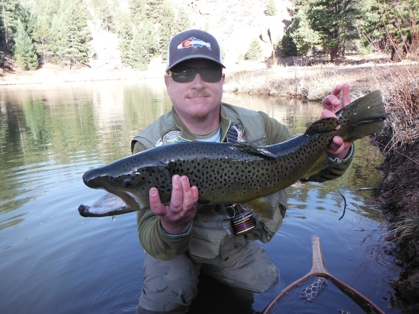 Jamie 39 s fly fishing journal rainbow falls for Fly fishing journal