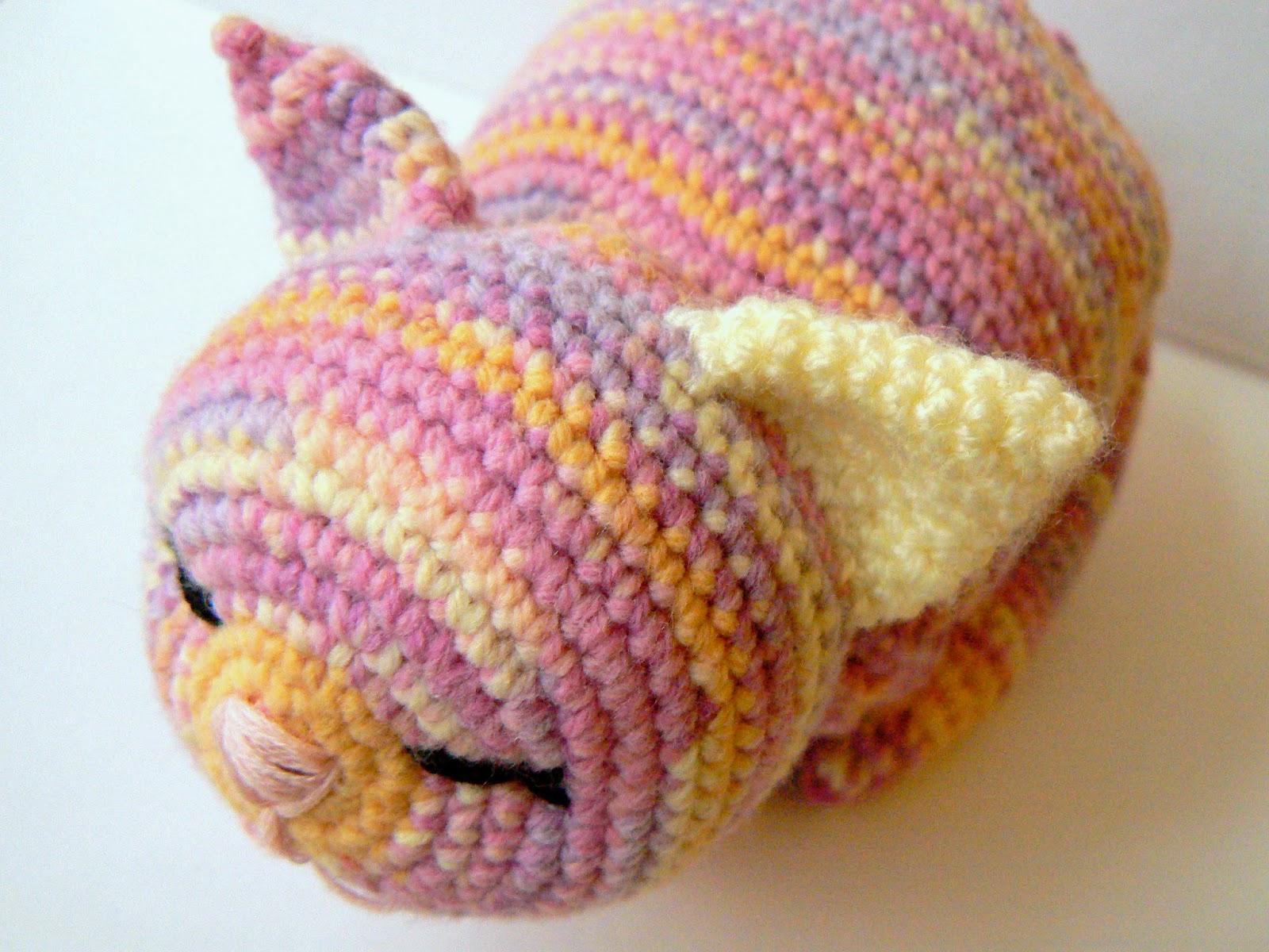 Crocheting Nicknames : Little Crochet: ?bercute Amigurumi Kitty Cat