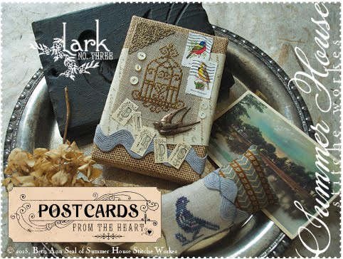 Postcards from the Heart - no. 3 - Lark