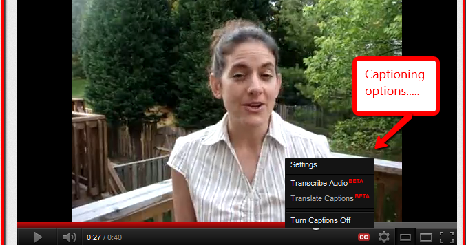 Upcycled Education Captioning Your Youtube Videos With Overstream