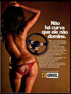propaganda volante Univel - 1978