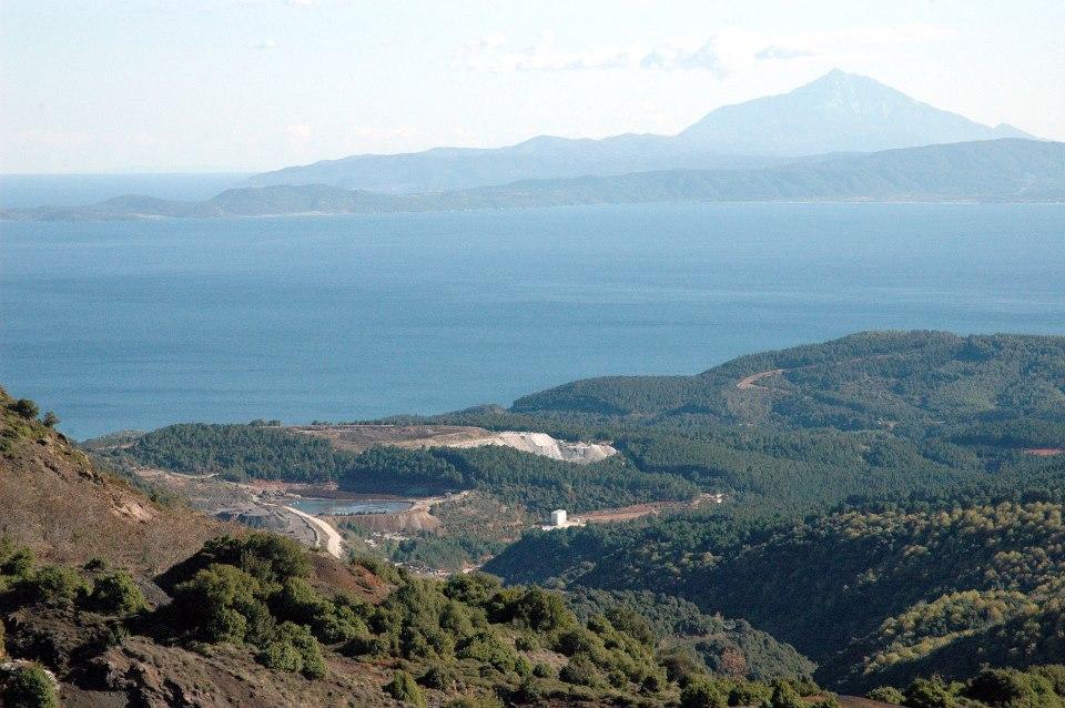 Ιερισσός Χαλκιδική, το τοπίο μαγεύει τον επισκέπτη