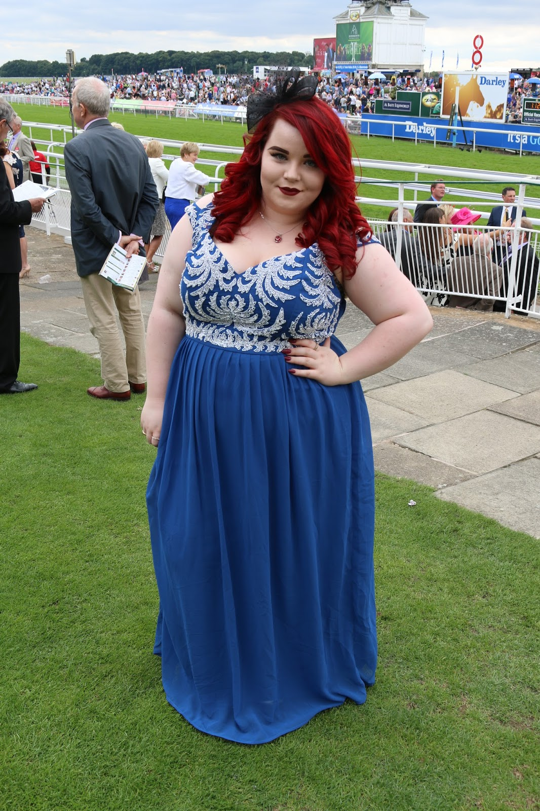 Dove #100Colours Campaign at York Races, asos curve, georgina grogan
