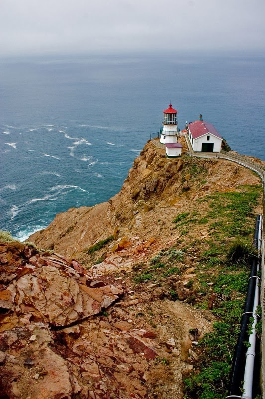 Point Reyes lighthouse ,north California