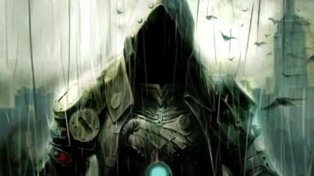 Cybepunk warrior