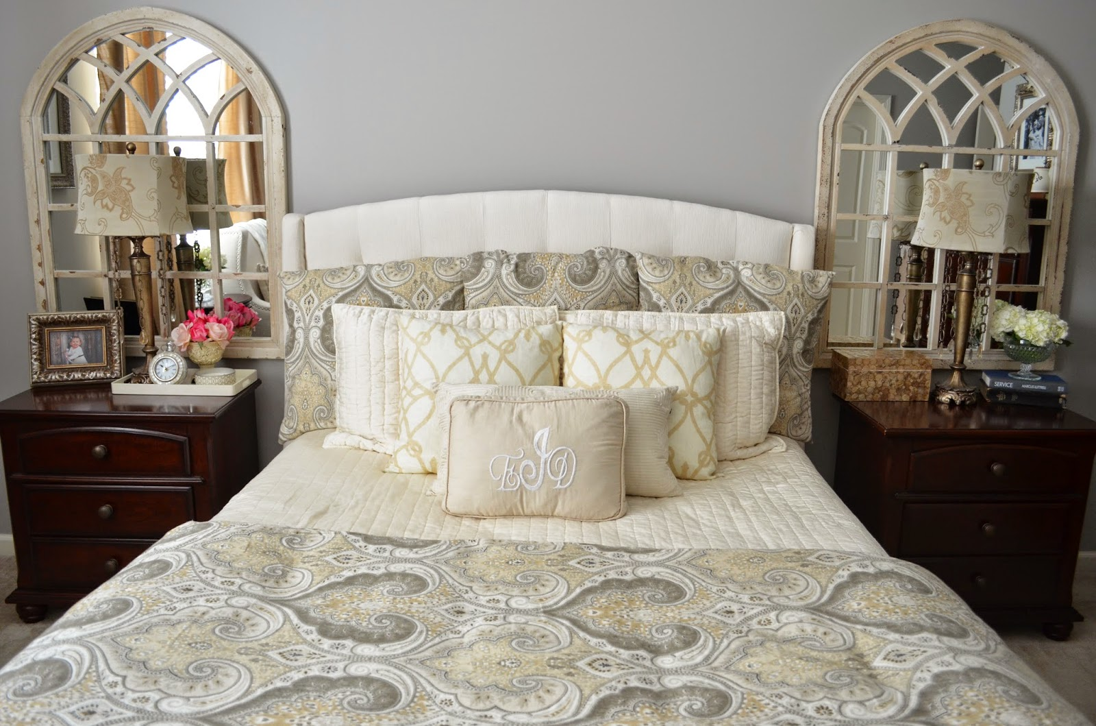 Fancy When it came in we moved the bed that matches the set into the guestroom