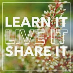 Learn, Live, Share your Beliefs