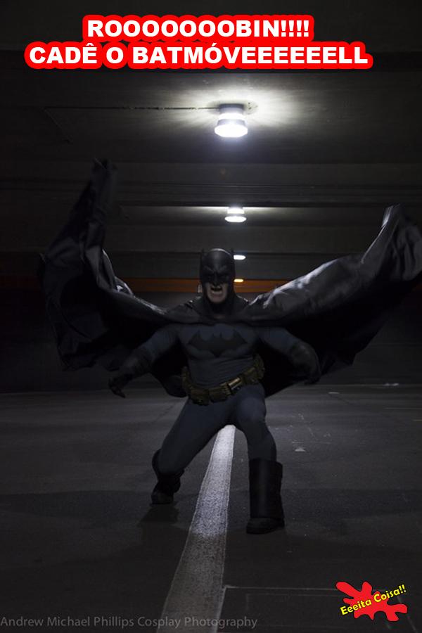 Robinharam o Batmóvel pois acho que o Robin roubou o carro do Batman mas me desculpem pelo trocadilho horrível utilizado nesse post