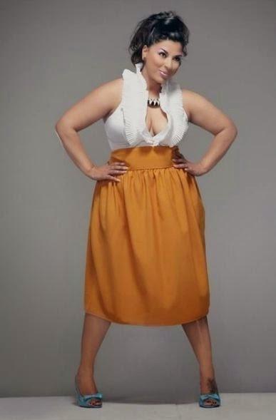 Юбка тюльпан для полных женщин фото