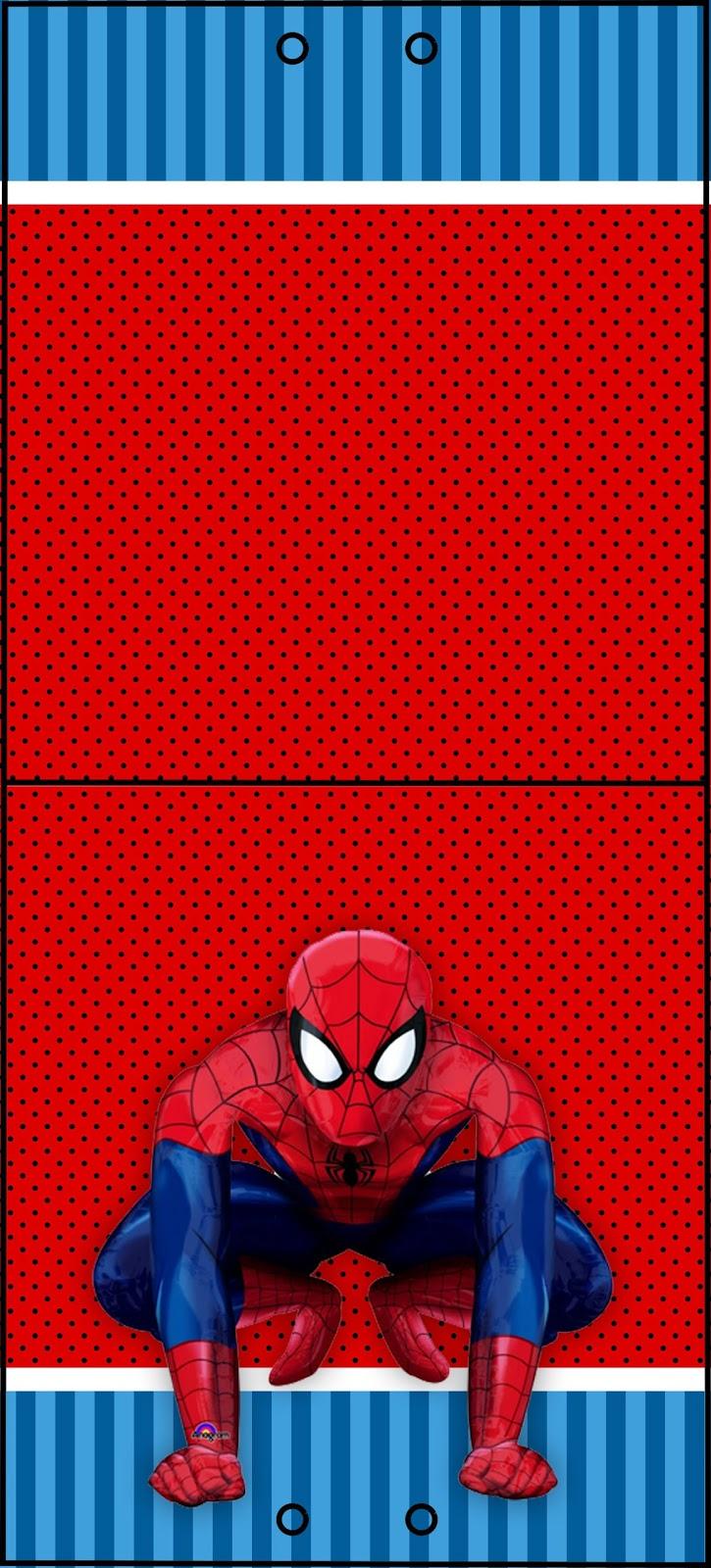 Adesivo Para Geladeira Retro ~ kit grátis para imprimir homem aranha Montando minha festa