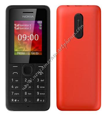 Nokia 107 Non Internet Non Camera Phone Front & Back Photo & Image Review