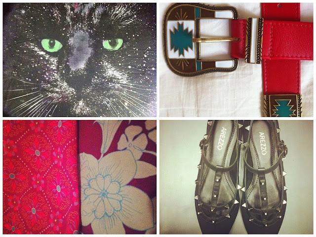 asos, analoren, cinto navajo, farm, vestido farm estampado, sapato valentino spikes, arezzo, arezzo spike