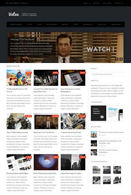 Vetee WordPress Theme. magazine wordpress theme. featured content for wordpress theme. clean wordpress theme