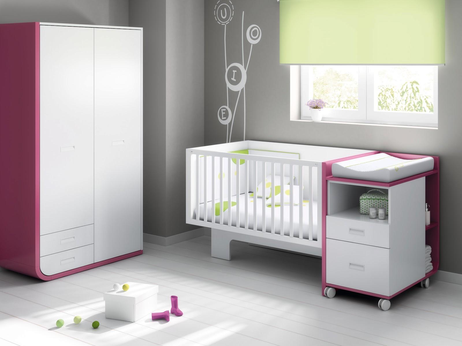 Culle per neonati ros camerette design e arte - Camerette per bambini design ...