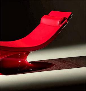 Une chaise longue