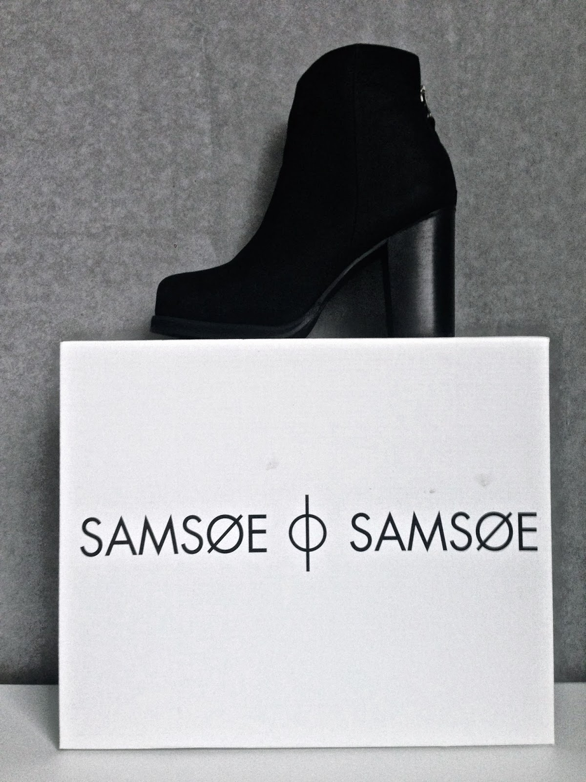 Samsoe&Samsoe, Fall Boots 50, Black