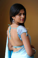 Shraddha, das, hot, saree, milky, back, show
