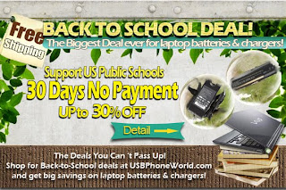 back to school, 30 days no payment, public schools