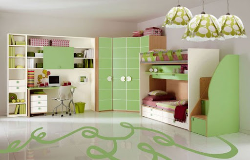 Bunk Beds With Slides for Children