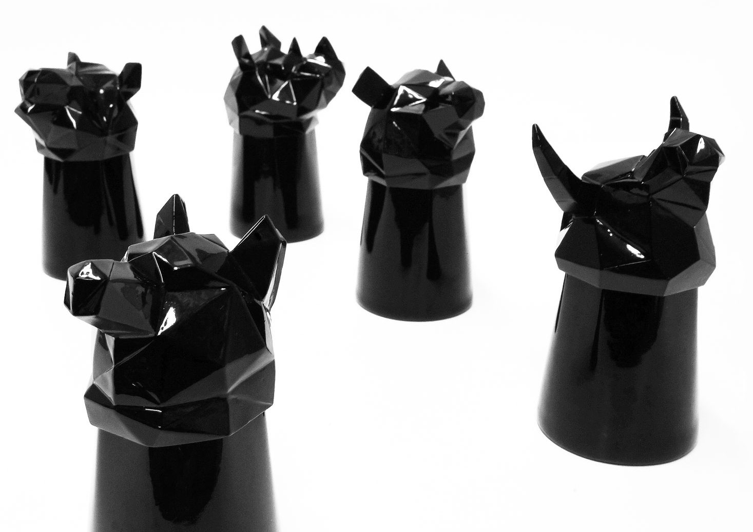 MollaSpace Animal Shot Glasses