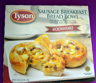 Tyson, Box, Sausage Breakfast Bread Bowls