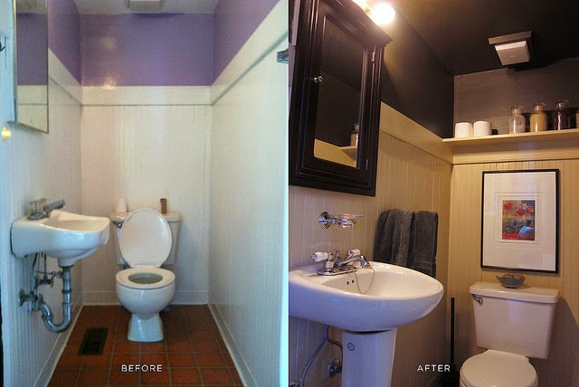 kamar mandi menggunakan batu alam