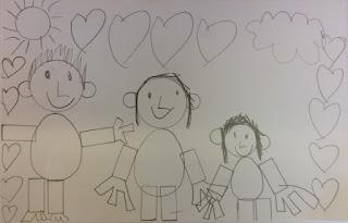 dessin 1 carte fête des pères