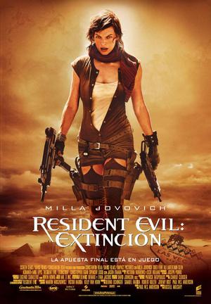 Poster Resident Evil: Extinction 2007