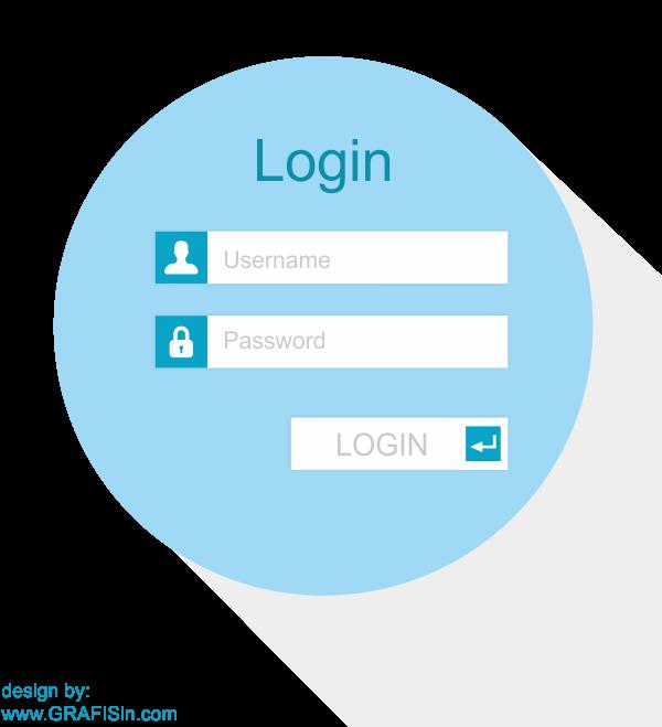 Desain Form Login Website dengan CorelDraw