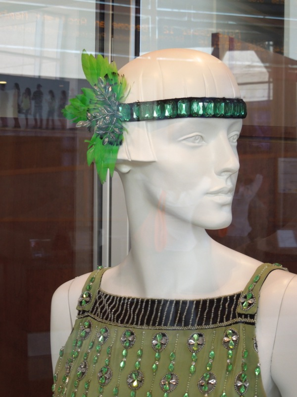 costume headpiece Great Gatsby