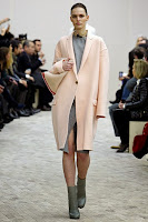Пастелно палто Celine