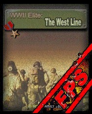 3D Nitro Family The WWII West Line S60v5 Mobile Game