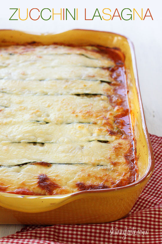 Skinnytaste Zucchini Lasagna 4 Unconventional Detox Meals For A Healthier New Year