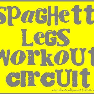 Leg Workouts For Women At Home Spaghetti legs workout circuit
