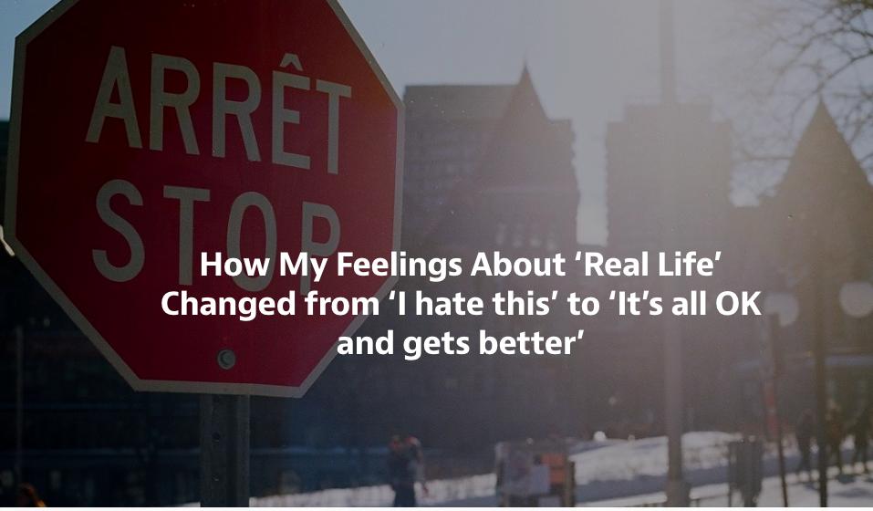 arret stop sign medium article life hacking career challenges inspiration