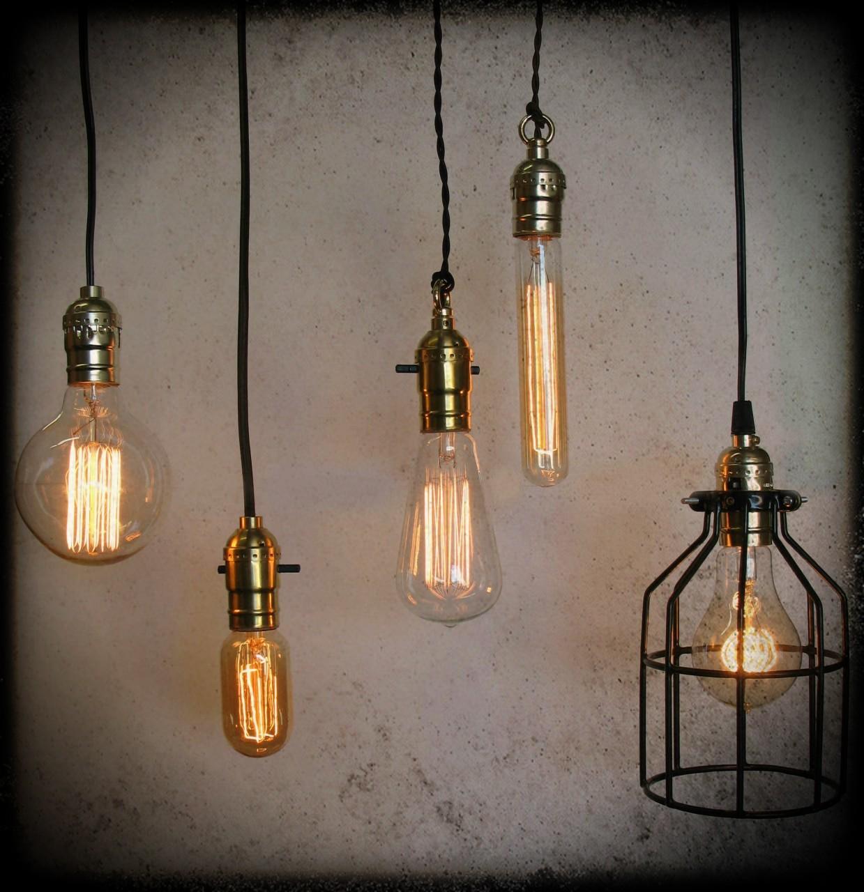 Design Your Own Edison Antique Pendent Lamp