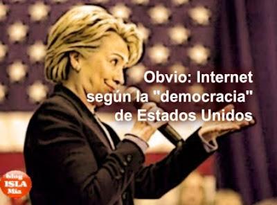 Foto 0 en  - Despliegue estrat�gico de EE.UU. en Internet: discurso sobre lo que est� bien o mal seg�n Clinton (+ discurso pdf)