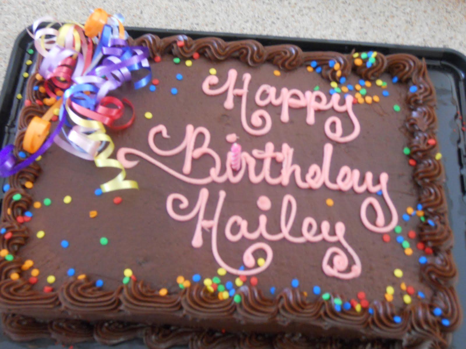 Rothiemay Farm Happy Birthday Hailey