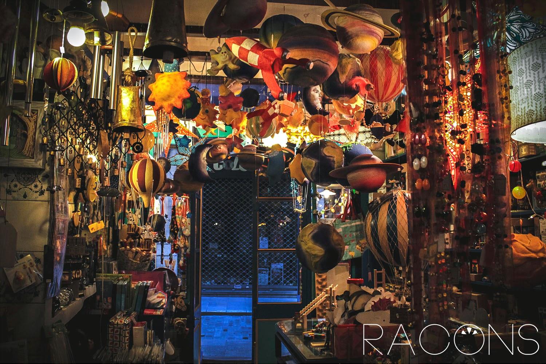 Decoració entrada botiga La Carpa Girona