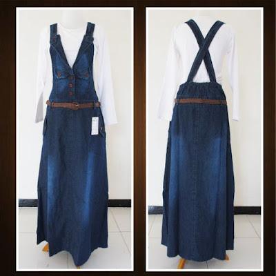 Grosir Murah Overall Jeans dan Inner Muslimah