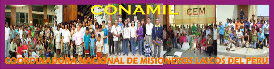 CONAMIL Coordinadora Nacional de Misioneros Laicos del Perú