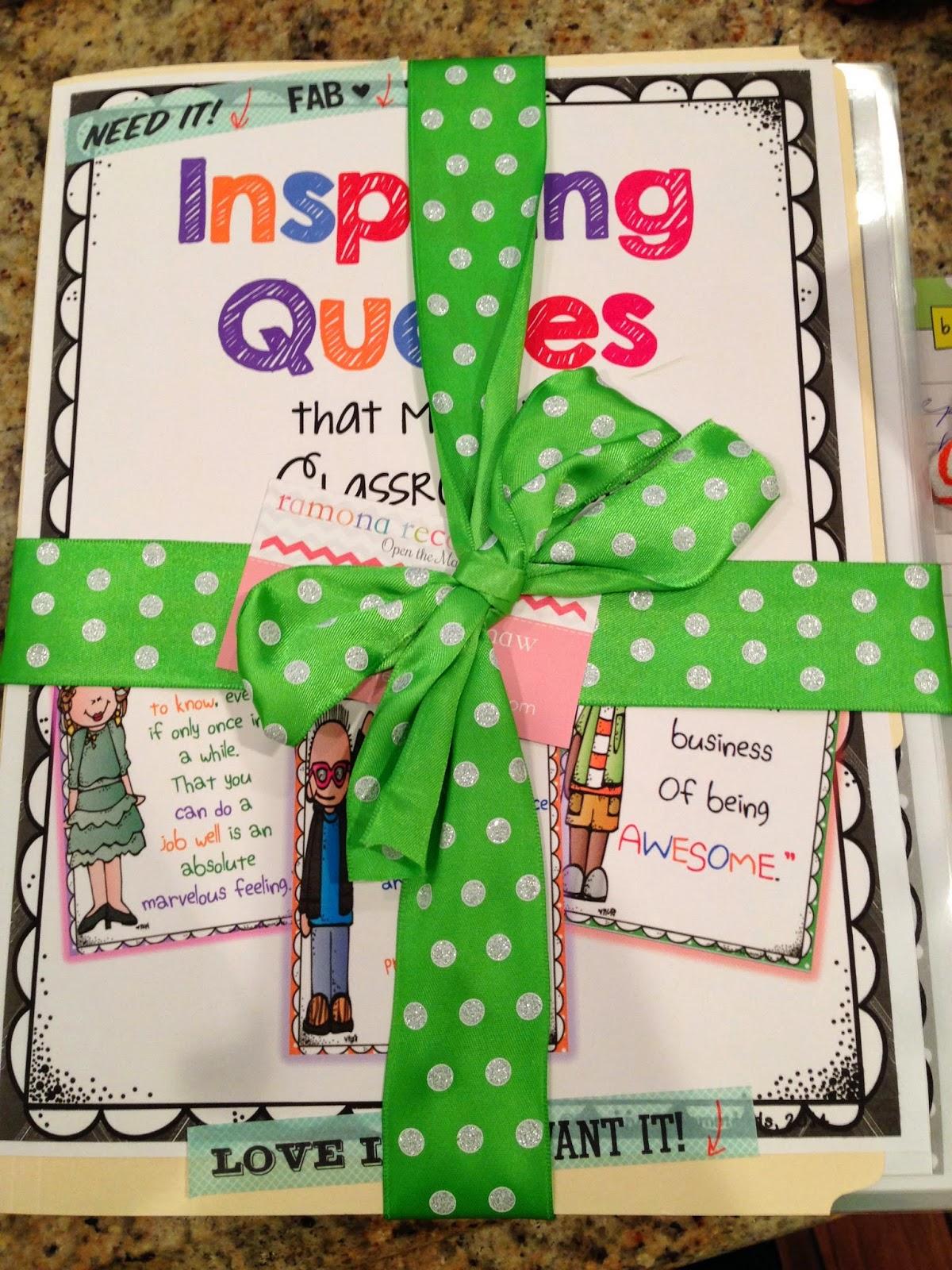 http://www.teacherspayteachers.com/Product/Inspiring-Quotes-for-your-Classroom-Decor-SET-II-1130416