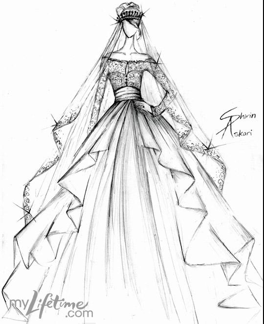 Very Best Fashion Design Sketches Wedding Dress 540 x 662 · 51 kB · jpeg