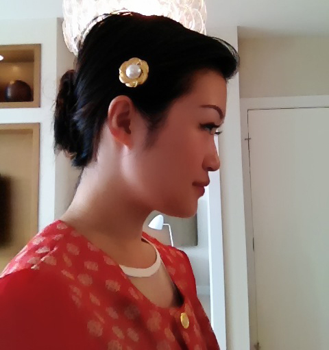 Vancouver fashion blog, vintage clip on earrings, eco fashion, upcycle, vintage style