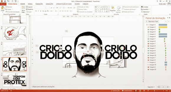 Novo clipe do Criolo feito no Power Point!