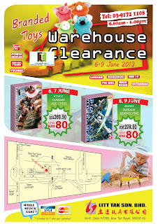 Litt Tak Branded Toys Warehouse Sale 2013