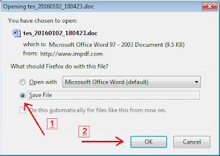 mendownload file word 2007
