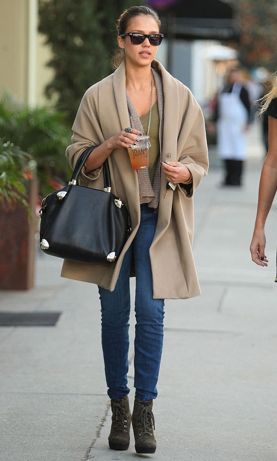 Shine Bright Like A Diamond The Street Style Queen Jessica Alba